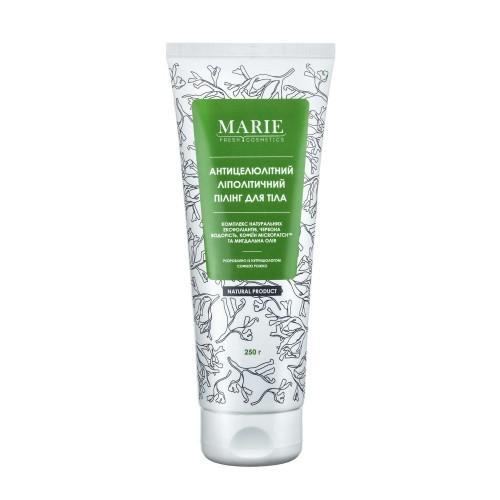 Антицеллюлитный липолитический пилинг для тела Marie Fresh Cosmetics 250г