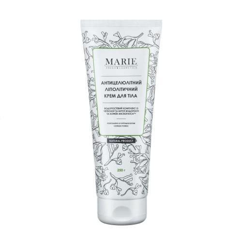 Антицеллюлитный липолитический крем для тела Marie Fresh Cosmetics 250г