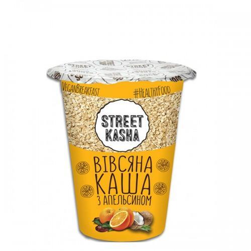 Каша вівсяна з апельсином Street Kasha 50г