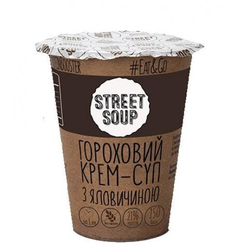 Крем-суп гороховий з яловичиною Street Soup 50г