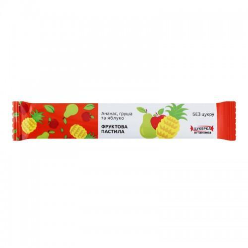 Конфета-витаминка Ананас, груша и яблоко Alexis