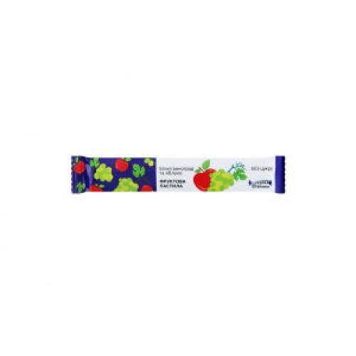 Конфета-витаминка Белый виноград и яблоко Alexis