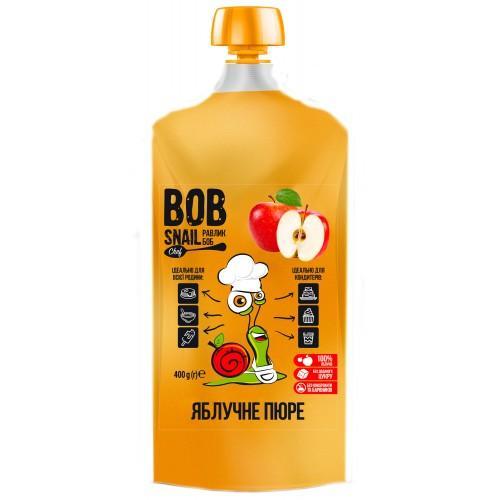 Пюре фруктове пастеризоване Яблуко Bob Snail - Равлик Боб 400г