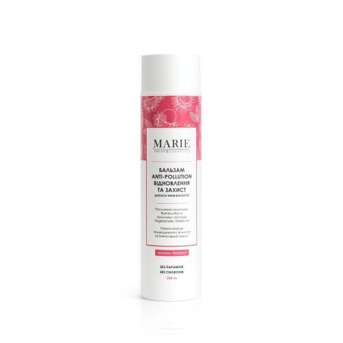 Бальзам Anti-Pollution Восстановление и защита для всех типов волос Marie Fresh Cosmetics 250г