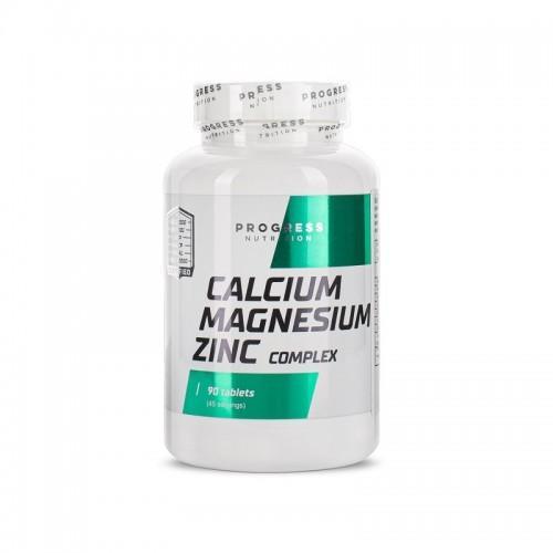 Calcium Magnesium Zink  Progress Nutrition 90кап.