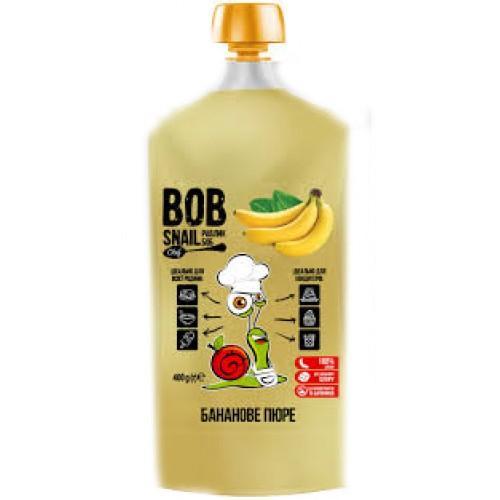Пюре фруктове пастеризоване Банан Bob Snail - Равлик Боб 400г