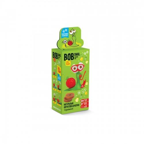 Набір Цукерки натуральні  Яблучно-грушеві + іграшка  Bob Snail - Равлик Боб 30г