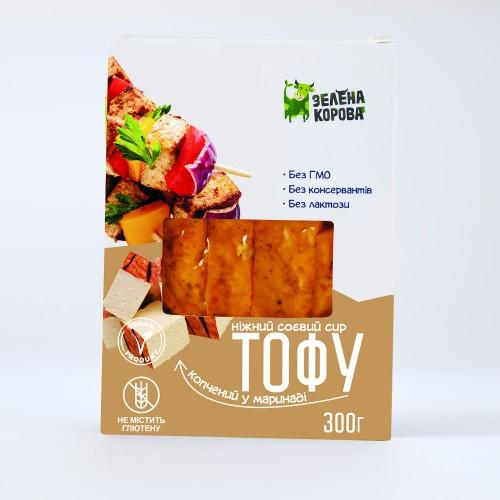 Сир тофу копчений Зелена Корова 300г