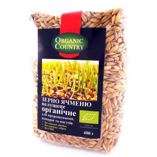 Зерно ячменю нелущене Organic Country 400г
