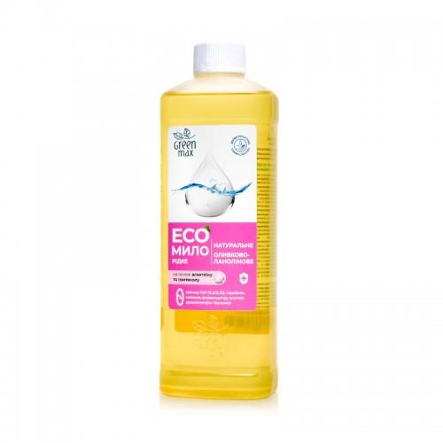 ЕСО мыло натуральное жидкое оливково-ланолиновое Green Max 500мл