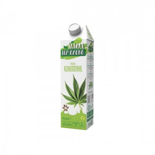 Напиток ультрапастеризованный рисово-конопляный 1,5% Идеаль Немолоко 950г