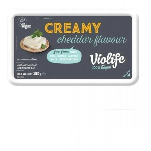 Крем-сир рослинний Cheddar  Violife 150г