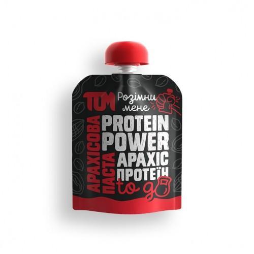 Арахисовая паста с протеином to go ТОМ 64г дой-пак