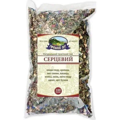 Натуральный травяной чай Сердечный  Гірський луг 100г