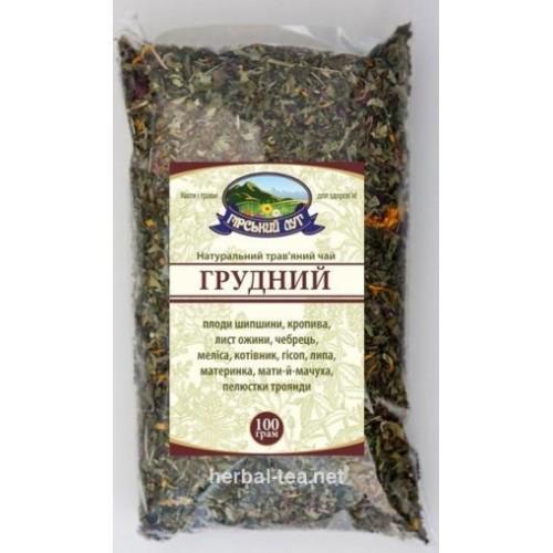 Натуральный травяной чай  Грудной Гірський луг 100г