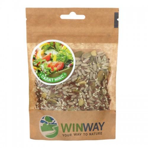 Суміш насіння Салатний мікс Преміум WinWay100г