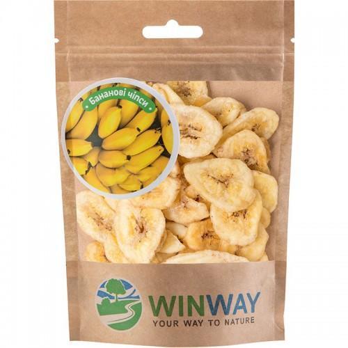 Бананові чіпси WinWay 70г