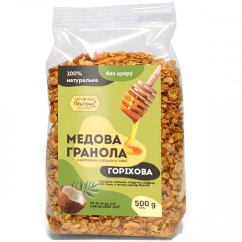 Гранола медовая Ореховая  Oats&Honey 500г