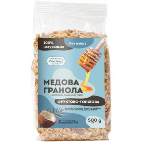 Гранола медовая Фруктово-ореховая Oats&Honey 500г