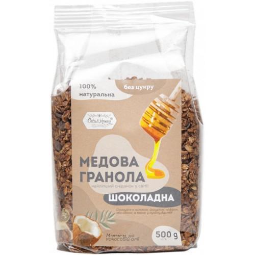 Гранола медовая Шоколадная Oats&Honey 500г