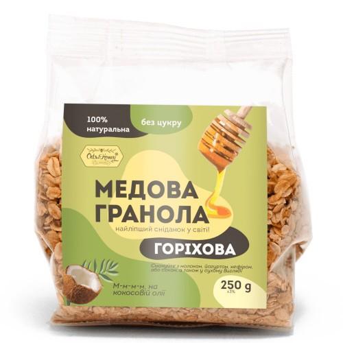 Гранола медовая Ореховая  Oats&Honey 250г