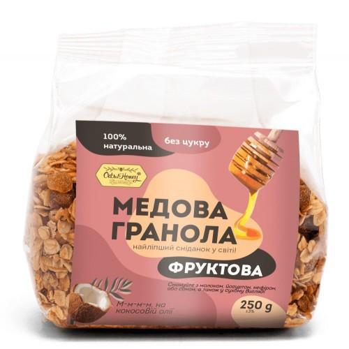Гранола медовая Фруктовая  Oats&Honey 250г