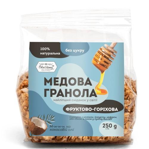 Гранола медовая Фруктово-ореховая  Oats&Honey 250г