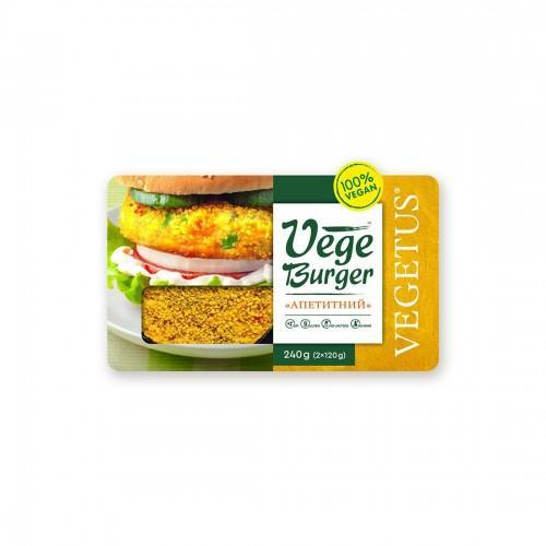Бургер Апетитний Vegetus 240г