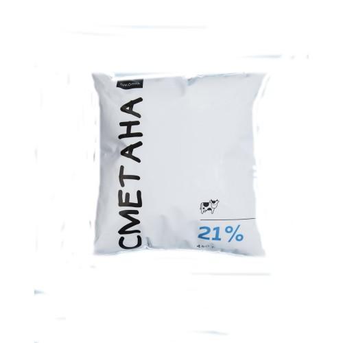 Сметана 15% LVK milk 450г