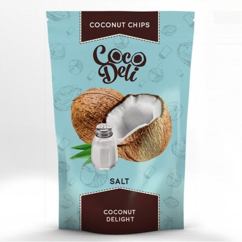 Чипси Кокосові солоні Coco Deli 30г
