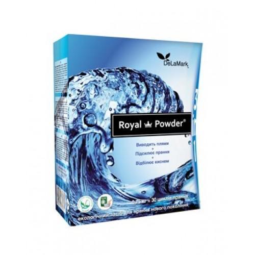 Кисневий відбілювач Royal Powder 3в1 DeLaMark 750г