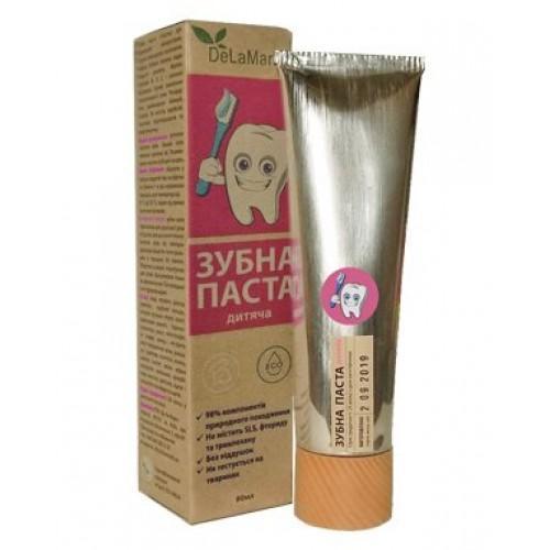 Зубная паста для ежедневного использования Детская DeLaMark 80мл