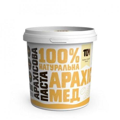 Арахісова паста з медом ТОМ 500г пластик