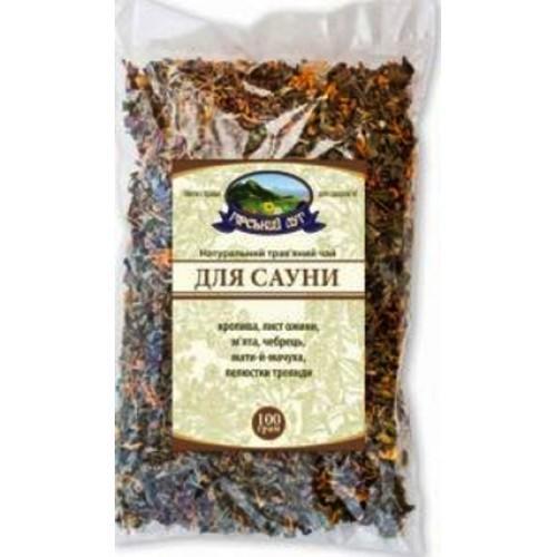 Натуральный травяной чай Для сауны Гірський луг 100г