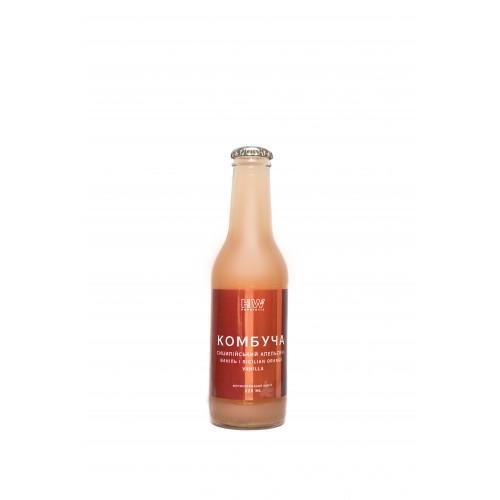 Комбуча Сицилийский апельсин-ваниль HealthWay 220мл