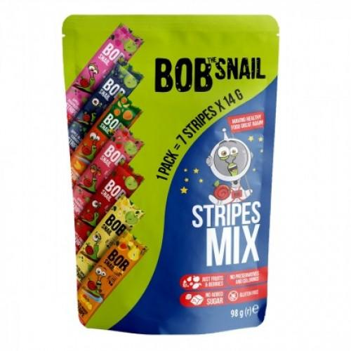 Набір страйпсів натуральних Stripes MIX Bob Snail - Равлик Боб 7х14г