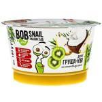 Десерт Груша-Ківі на кокосовому кремі  Bob Snail - Равлик Боб 180г