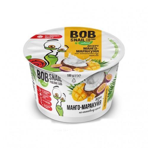 Десерт Манго-Маракуйя на кокосовому кремі Bob Snail - Равлик Боб  180г