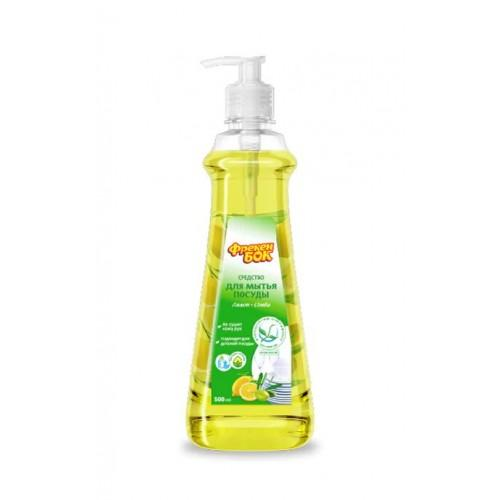 Средство для мытья посуды Лимон + оливка Фрекен БОК 500мл