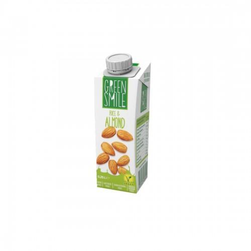 Напій ультрапастеризований рисово-мигдальний 1,5% Green Smile 250г