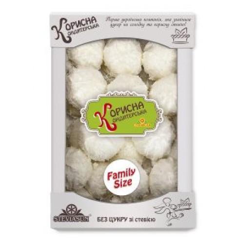 Зефір білий у кокосовій стружцi Корисна Кондитерська