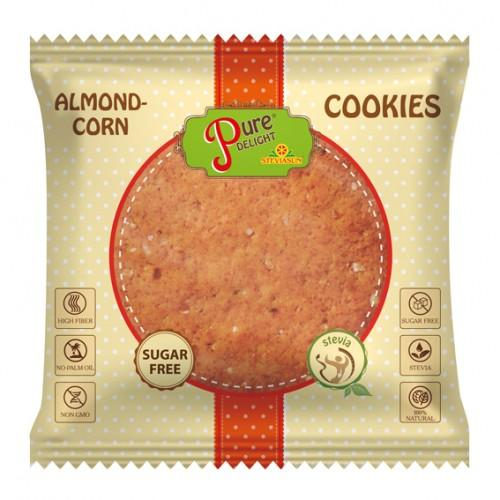 Печиво Мигдалево-кукурудзяне PureDelight  50г