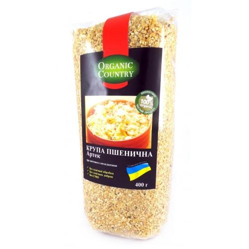 Крупа пшеничная Артек Organic Country  400г