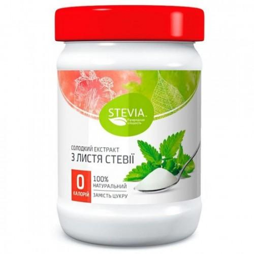 Солодкий екстракт з листя стевії Stevia 150г