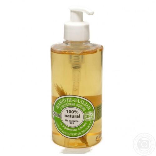 Шампунь-бальзам для восстановления волос С протеинами пшеницы ЯКА 350мл