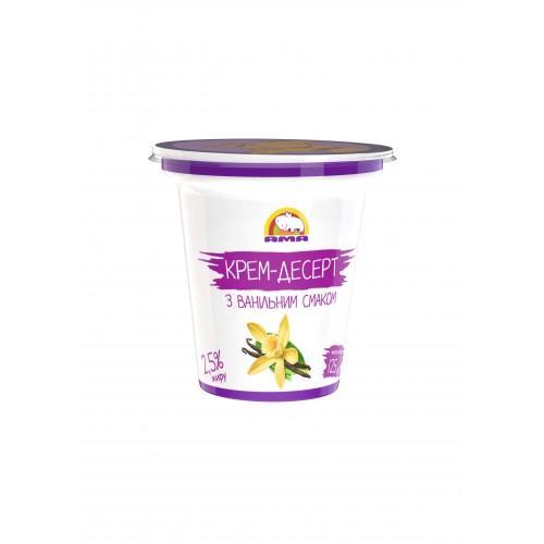 Десерт кисломолочный с ванильным вкусом 4% АМА 125г