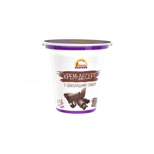 Десерт кисломолочный с шоколадным вкусом 4% АМА125г