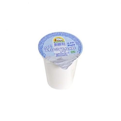 Йогурт натуральный 2,5% АМА 380г